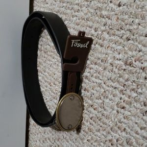 Fossil leather Belt Large